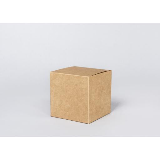 Brown Gift Box 125 x 125 x 125mm