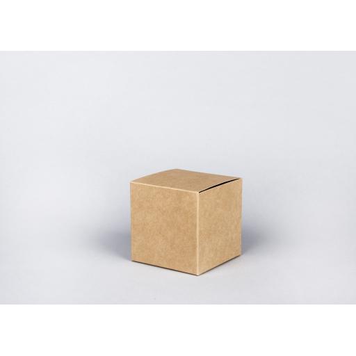 Brown Gift Box 100 x 100 x 100mm