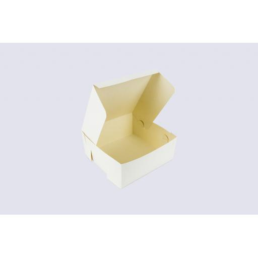 7 Inch Cake Box-Hinged Lid