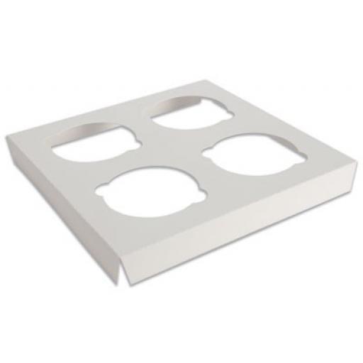 Cupcake Box Insert holds 4