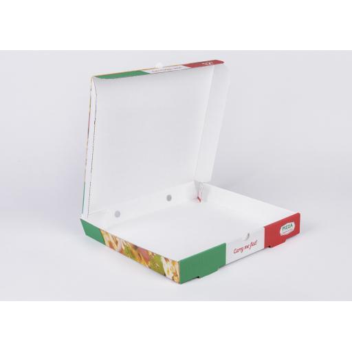 12 Inch Pre Printed Pizza Box