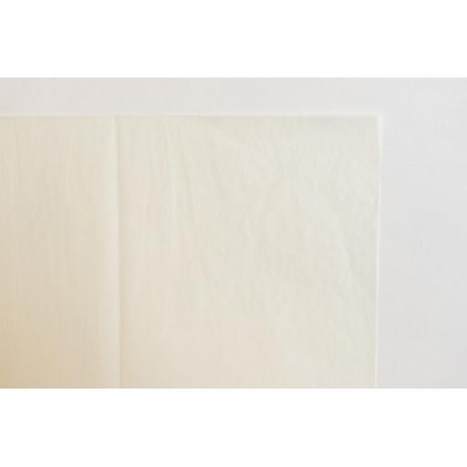 Cream Tissue Paper 450x700mm (1 pack of 80 sheets)