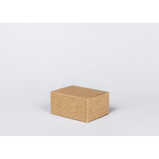 Brown Gift Box 133 x 102 x 64mm