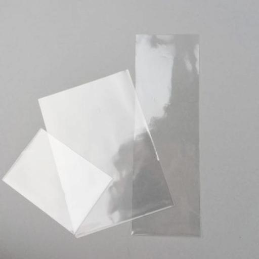 Clear Flat Polypropylene and Cellophane Bags