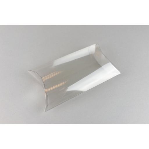 Clear PVC Pillow Box 130x89x38mm