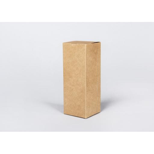 Brown Gift Box 203 x 76 x 76mm