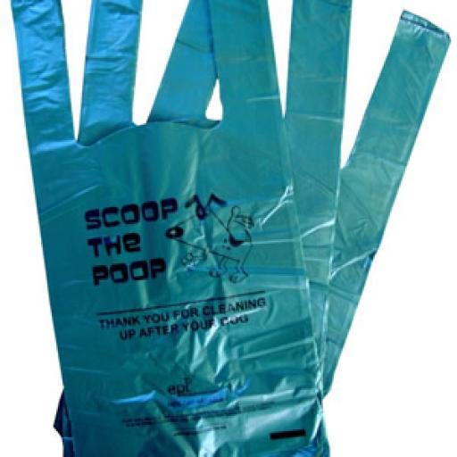Dog Poop Bags - 180x250+120mm