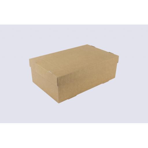 Kraft Shoe Box 296 x 184 x 102mm