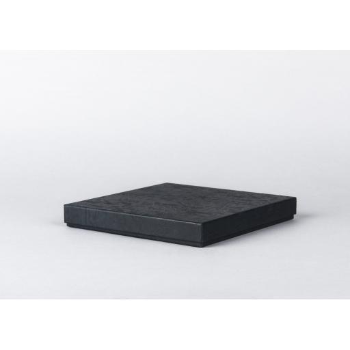 Black Jewellery Box 185x185x24mm