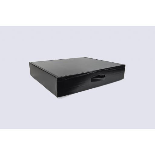 Garment Box Black 510 x 432 x 100mm