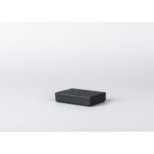 Black Jewellery Box 76x51x16mm