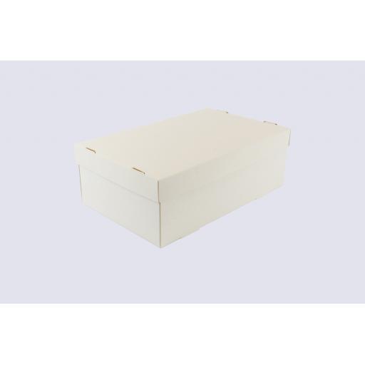 White Shoe Box 296 x 184 x 102mm