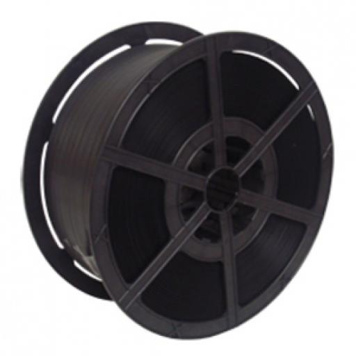 Black Polyprop Strapping 12mm x 1000m