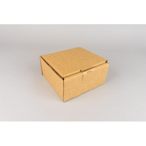 Brown Corrugated Box 130x130x65mm