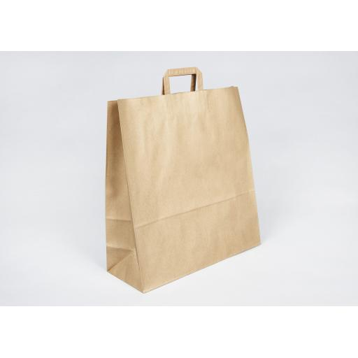 Brown Paper Carrier 450x480+170mm