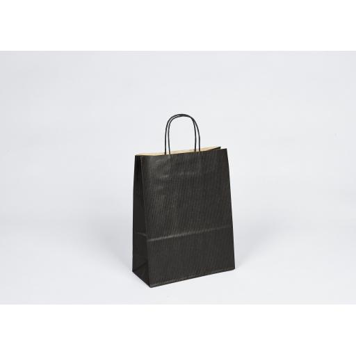 Black Carrier + Twisted Handle 220x100x310mm