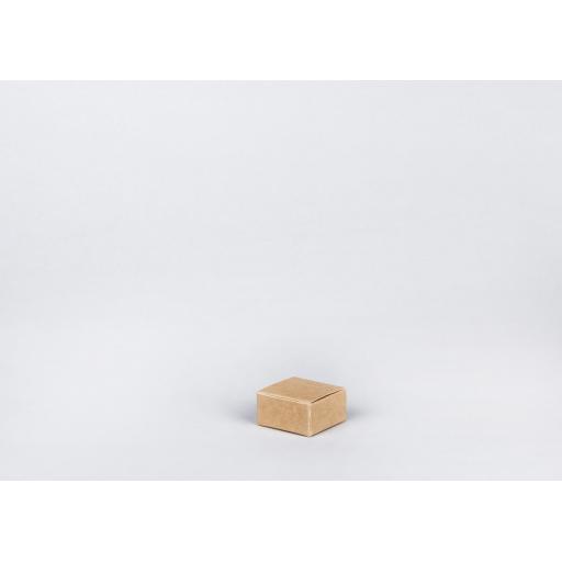 Brown Gift Box 51 x 51 x 25mm