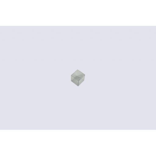 Flat Folding Clear PVC Box 34x34x34mm