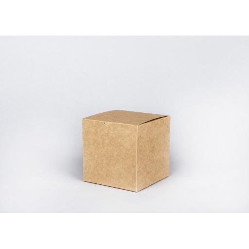Brown Gift Box 114 x 114 x 114mm