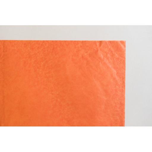 Orange Tissue Paper 500x750mm (1 pack of 80 sheets)