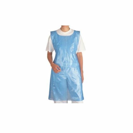 Disposable Apron 1000 x 700mm blue