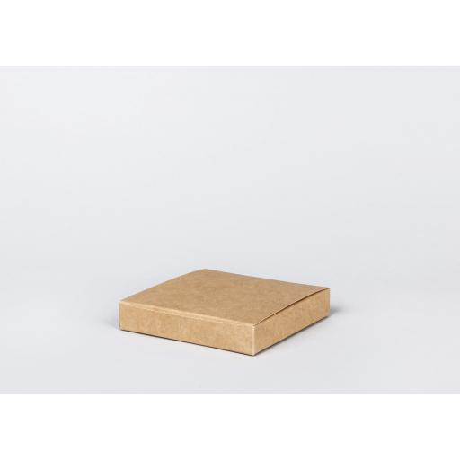 Brown Gift Box 155 x 155 x 25mm