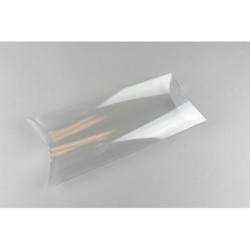 Clear PVC Pillow Box 199x102x38mm