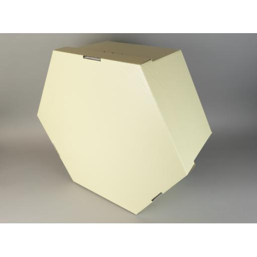 "Hat Box Cream 14 x 6"" (350 x 152)"