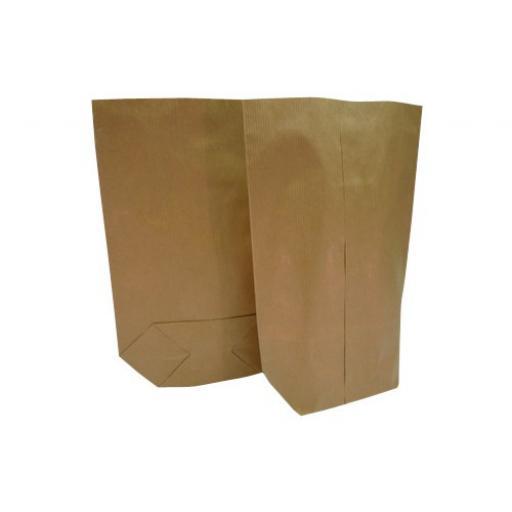 14lb Block Bottom Paper Sack - 310 x 450 + 115mm