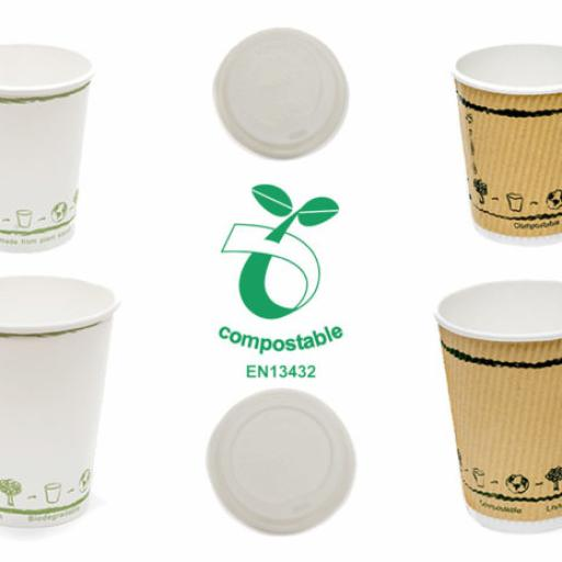 Compostable Hot Cups and Lids