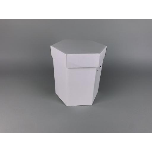 "Hat Box 9 x 10"" (216 x 254mm) White"
