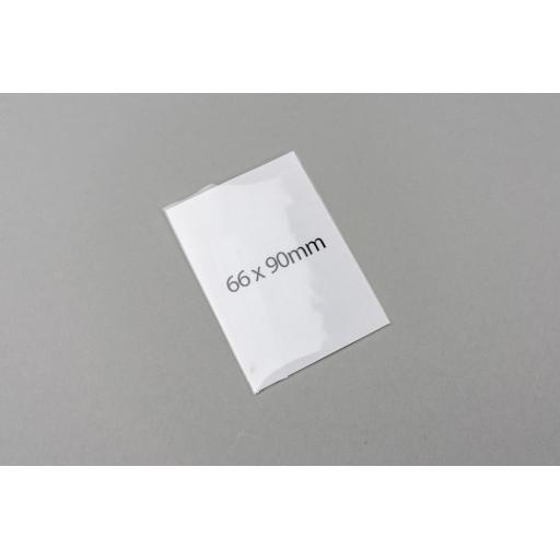Clear Polyprop Bags 66x90mm