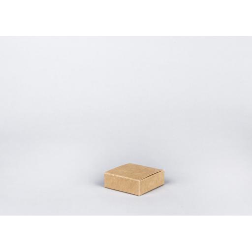 Brown Gift Box 75 x 75 x 25mm