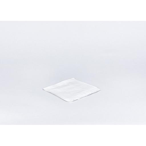 7 inch White Paper Bags