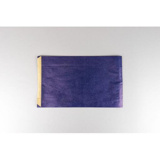 Blue Paper Satchel 200x320+70mm