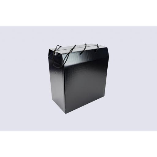 Fashion Box Plain Black 350 x 190 x 350mm