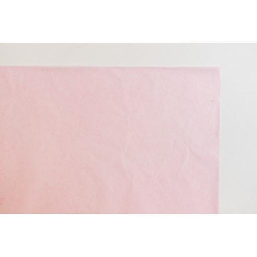 Pastel Pink Tissue Paper 500x750mm (1 pack of 80 sheets)