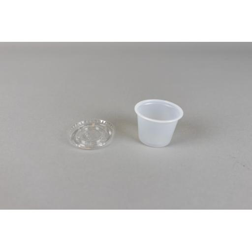 Portion Pot and lid - 1oz