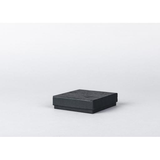 Black Jewellery Box 86x86x22mm