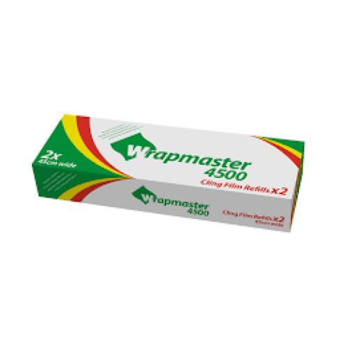 Wrapmaster Film 450mm x 300m (3 pack) pvc