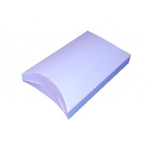 White Standing Pillow 125x114x60mm