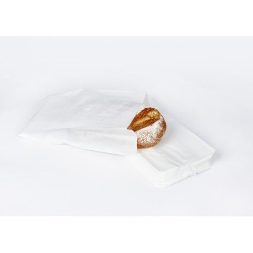 """Paper Bread Loaf Bags - 7 x 11 x 15"""""""