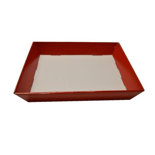 Red Tray 430x335x70mm