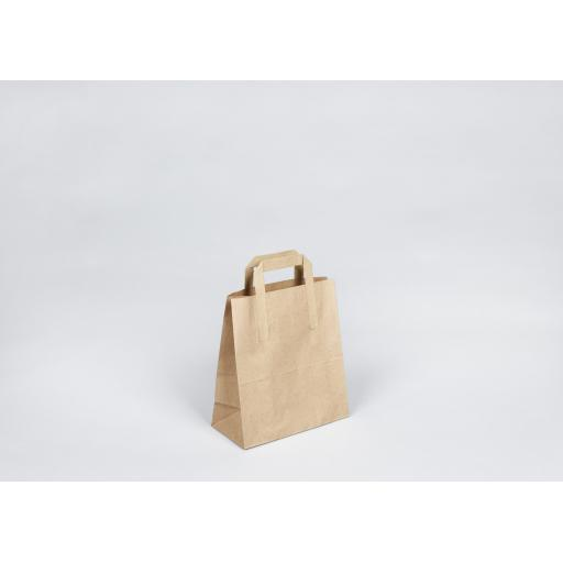 Brown Paper Carrier 218x256+110mm