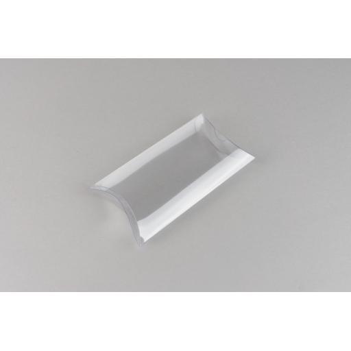 Clear PVC Pillow Box 98x64x22mm