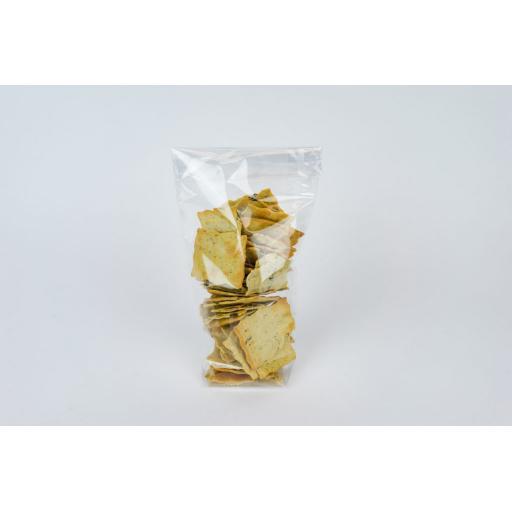 Clear Block Bottom Card Base Bag 140 x 305mm