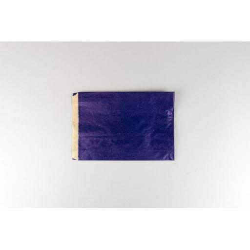 Blue Paper Satchel 150x210+40mm