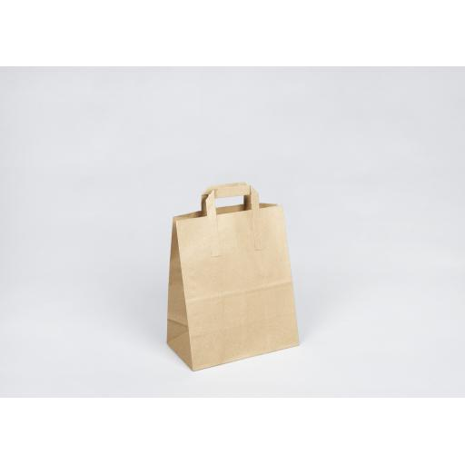 Brown Paper Carrier 260x300+130mm