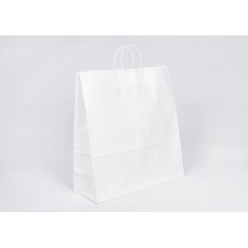 White Carrier + Twisted Handle 450x480+170mm