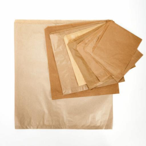 Brown Paper Bags - Strung